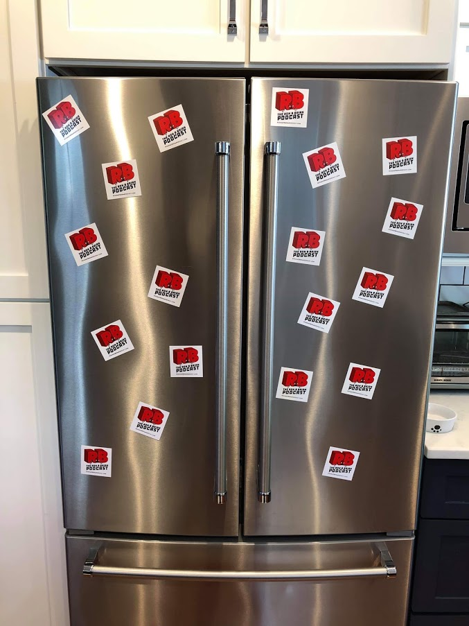 Ron's Fridge Is Loving Our Magnets